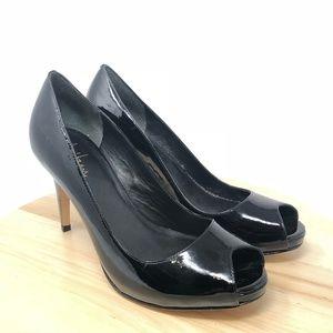 Cole Haan Women Black Patent Leather High Heels X3